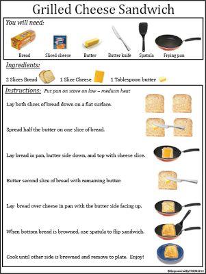 Using Visual Recipes