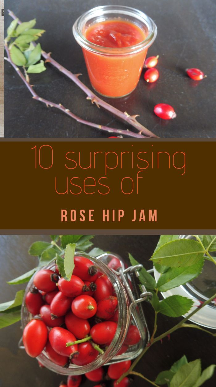 The Rose Hip Jam Is Packed With Vitamins And Thanks To Its Delicious Taste Color