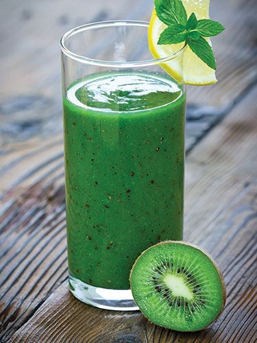 This smoothie recipe will give you more energy than a cup of coffee! http://papasteves.com