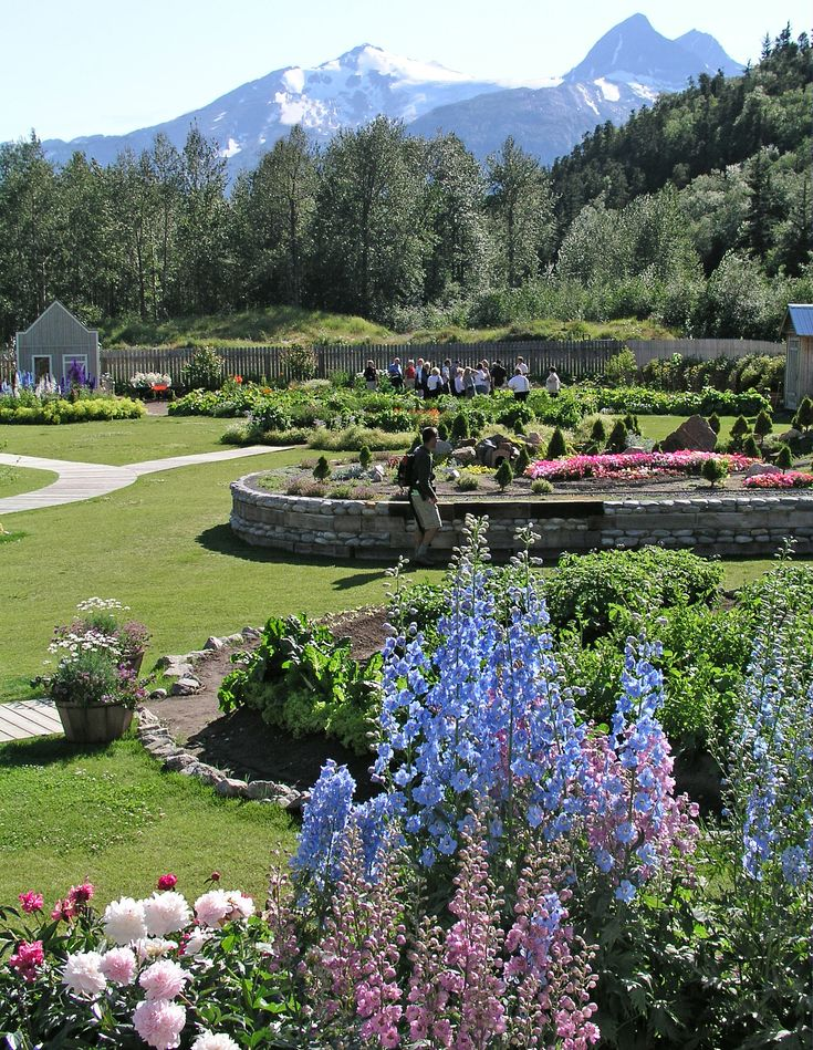 #Wonderful place!I love them! Jewell Gardens in Skagway Alaska... one of my