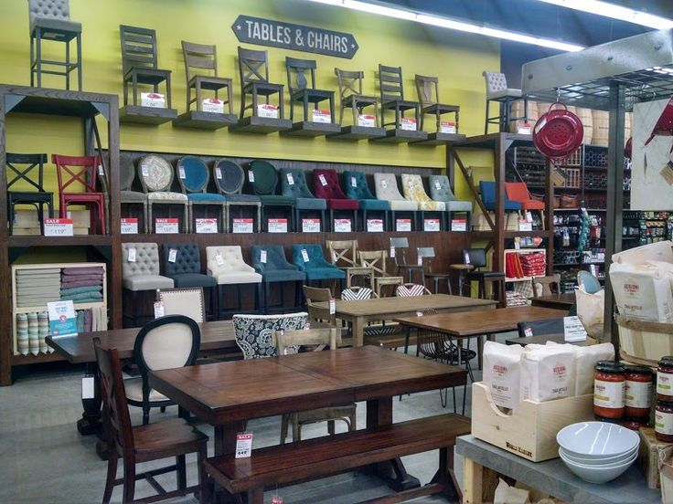 Love the selection of dining tables and chairs at World Market eclecticallyvintage.com