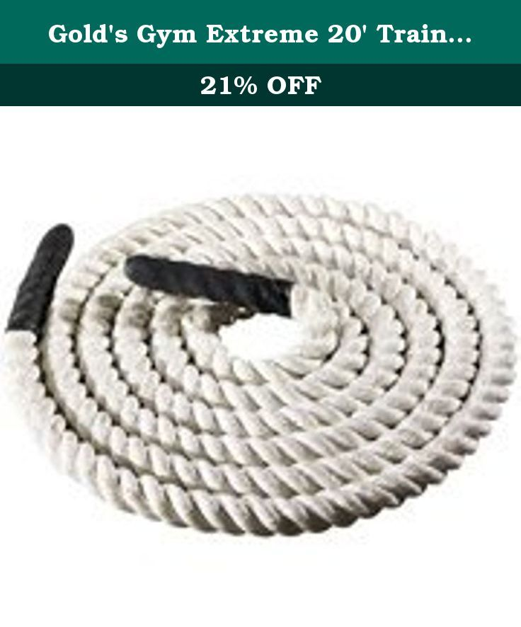 Gold's Gym Extreme 20' Training Rope. Golds Gym Extreme 20 Foot Rope.