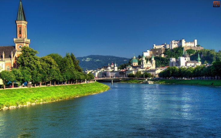 Зальцбург, Австрия  #moreinfo #beautiful #places #travel #voyage #amazing #free #Austria