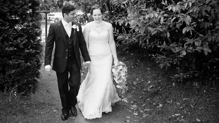 """A slideshow I made of Cheryl and Kane's beautiful Ufton Court wedding. Cheryl wrote to me after seeing it -  """"We have watched this twice and still in tears! What a lovely lovely way to capture the day, thank you so much.""""  #uftoncourtwedding"""
