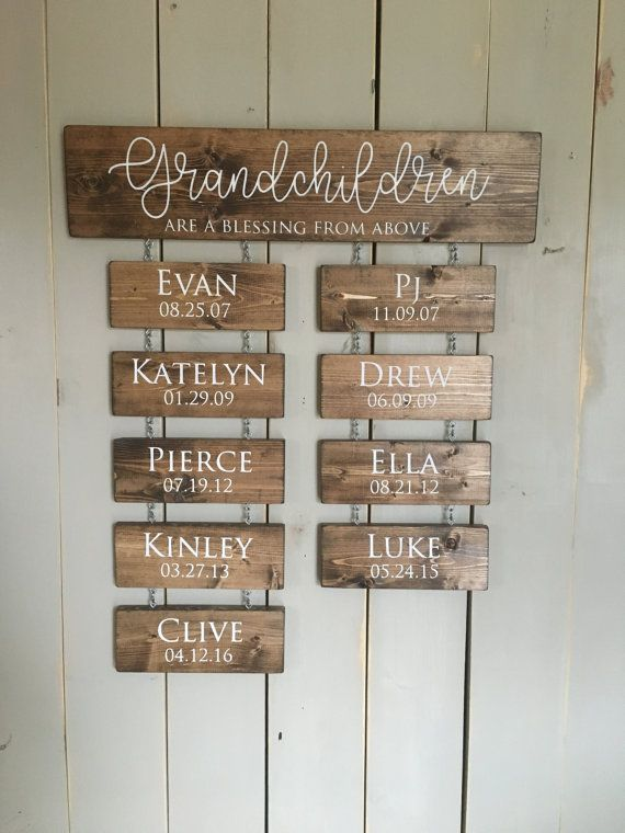 Gift Personalized Family Christmas Tree Farm Sign Wooden Christmas Tree Sign Custom Farmhouse Custom Wall Art You Print