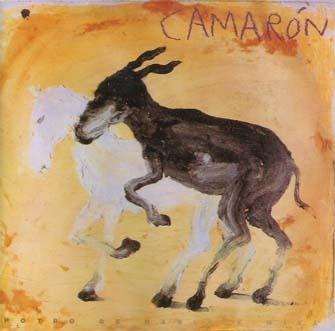 Miquel Barcelo designed this cover for one of the last albums of Camaron de la Isla