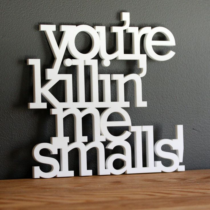 CHASE MUST HAVE THIS!!!!!   You are killin me smalls acrylic or wood sign. $45.00, via Etsy.