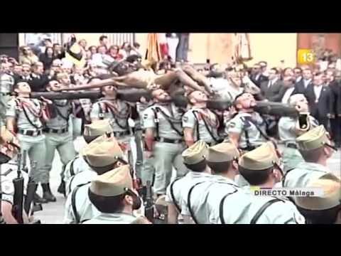 Semana Santa Malaga 2012 - La Legion Cristo De La Buena Muerte