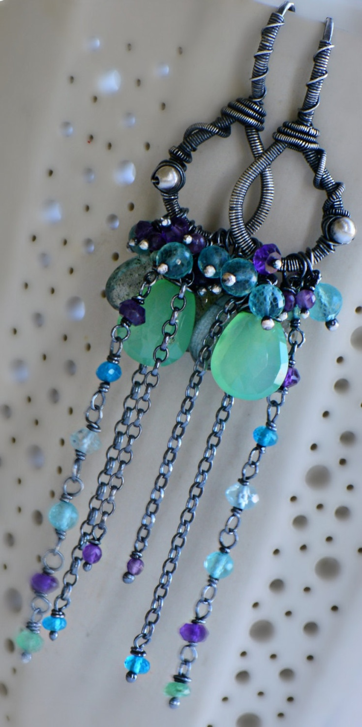 79 best Emily Gray Couture Wire Wrapped Jewelry images on Pinterest ...
