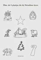 Miranda's lesmaterialen : Werkboekje (groep 1/2) Sinterklaas