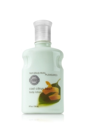 Cool Citrus Basil® Body Lotion - Signature Collection - Bath & Body Works
