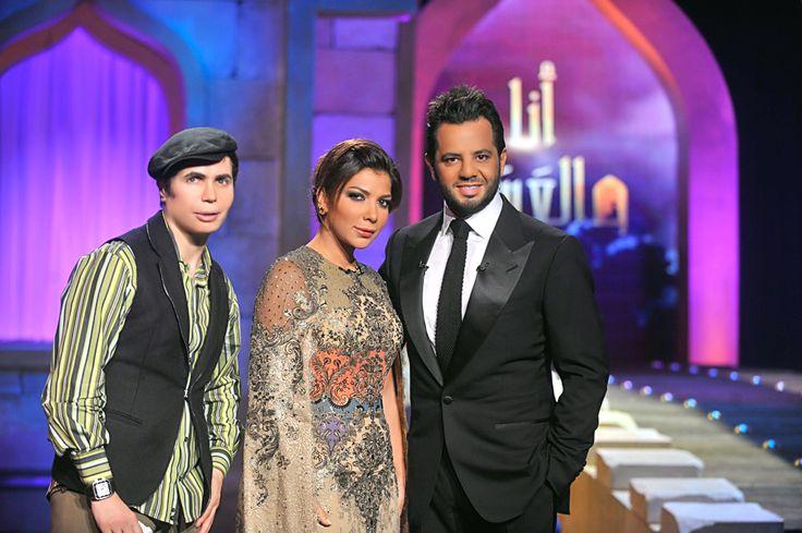 The #Syrian & #Arab #Singer #Diva ##Assala by #JoeRaad in #AnaWel3assal #TV #Show #Neshan #Ramadan #2013 #Simple #Elegant #Classy #updo