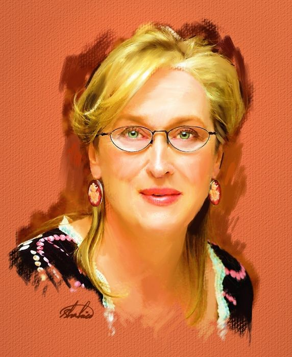 Meryl Streep by shahin