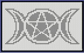 Triple Moon Phases Goddess Pentacle Afghan by crochetcronesdesigns, $3.00