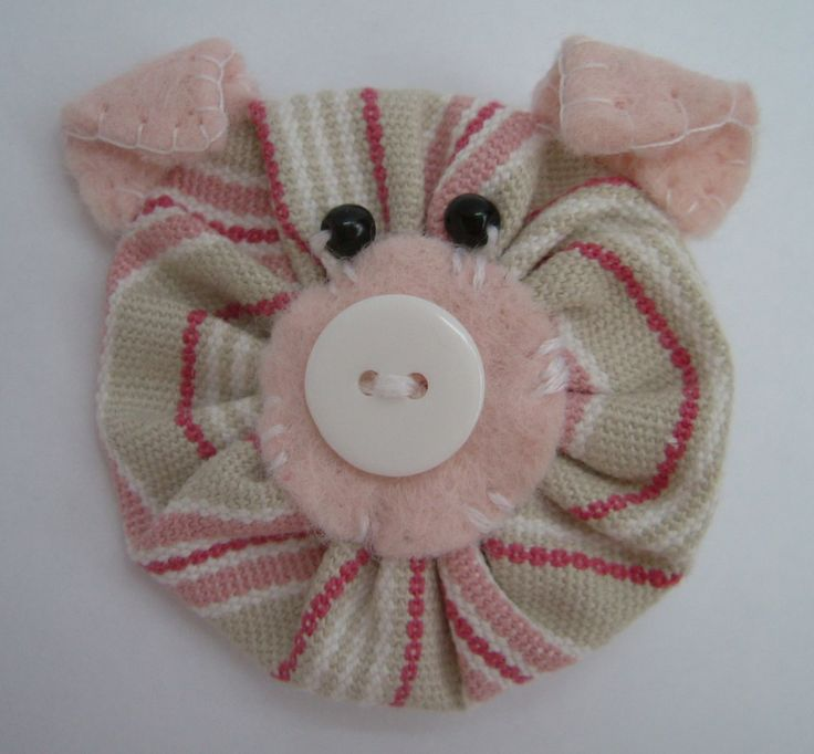 Sarah's Little Snippets: Change from flower to.....a Pig!