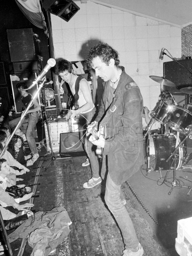 The Stranglers at Their Manchester Concert, Entertainment Punk Music, June 1977