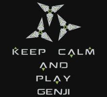 Overwatch - Keep Calm and Play Genji by Zurex