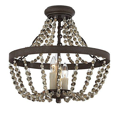 rustic flush mount ceiling fan. Modren Rustic Mallory Traditional Convertible Semi Flush Mount Ceiling Light The  Collection From Savoy House Features Has Rustic Style And Elegant Curves And Rustic Fan S