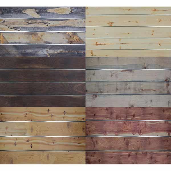 SlatTex Textured Slatwall Panels Wood Finishes blue