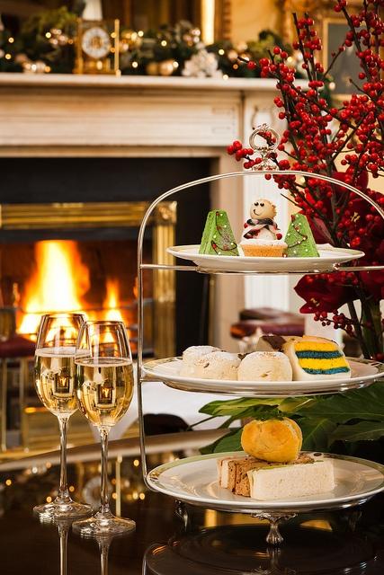 Festive Afternoon Tea by The Merrion Hotel, Dublin, via Flickr