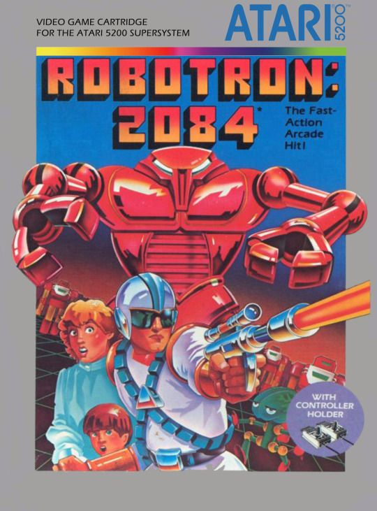 Robotron: 2084 (Atari 5200, 1983) #80s #atari #retrogames