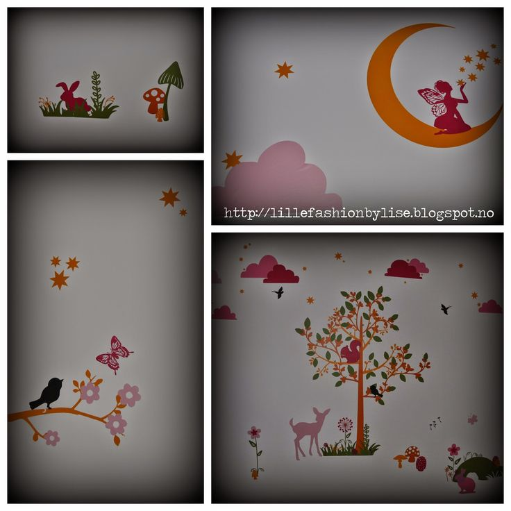 silhouette vinyl wallstickers  lillefashion.by.lise