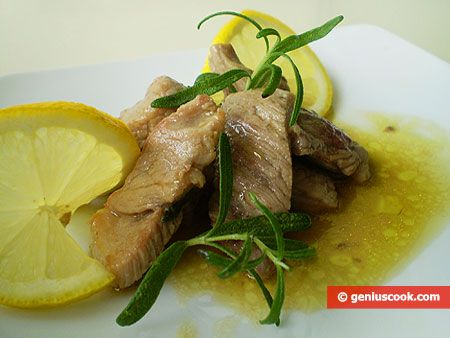 The Italian Recipe for Pork with Lemon and Rosemary | Italian Food Recipes | Genius cook - Healthy Nutrition, Tasty Food, Simple Recipes