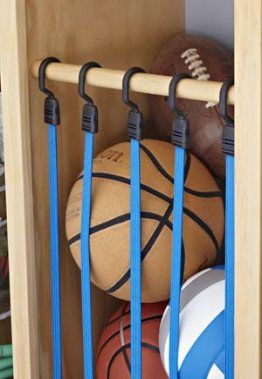 Super Kids Room Storage Solutions Bungee Cord Ideas