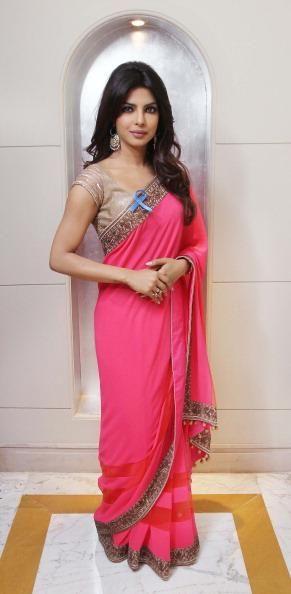 Love this pink sari
