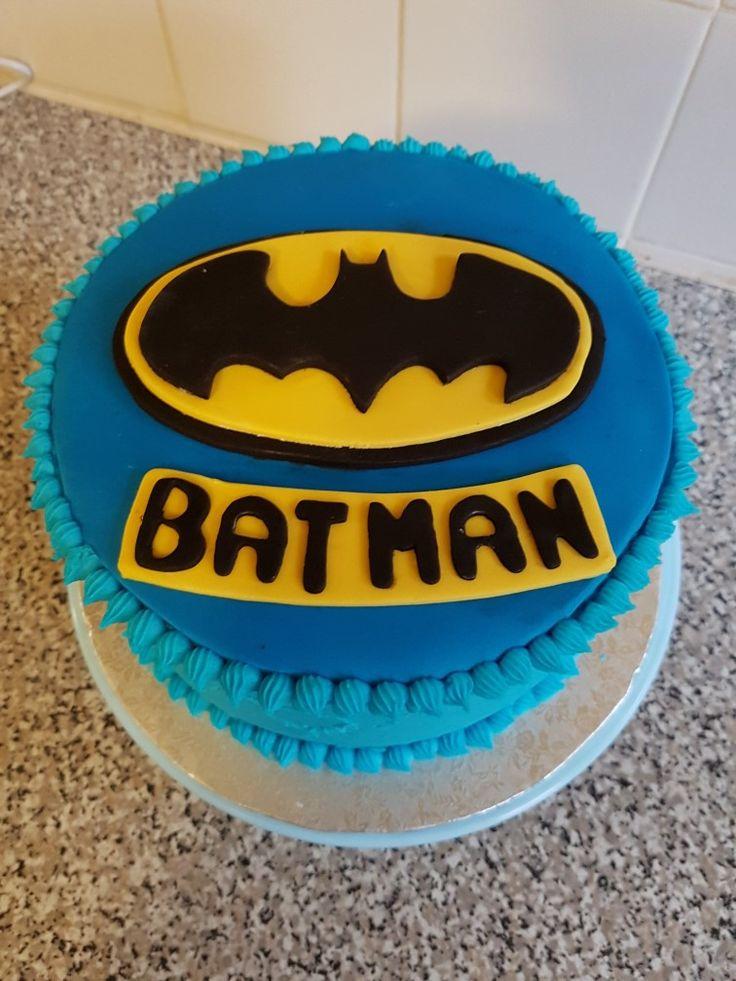 Batman cake blue