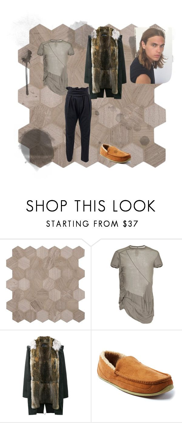 """for class"" by dndweebofreak on Polyvore featuring Rick Owens, Yves Salomon, Deer Stags, Vanessa Bruno, men's fashion and menswear"