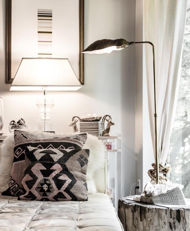 MonochromeGrey Bedrooms, House Design, Home Interiors, Design Interiors, Hotels Interiors, Interiors Design, Bedside Tables, Night Stands, Trees Stumps