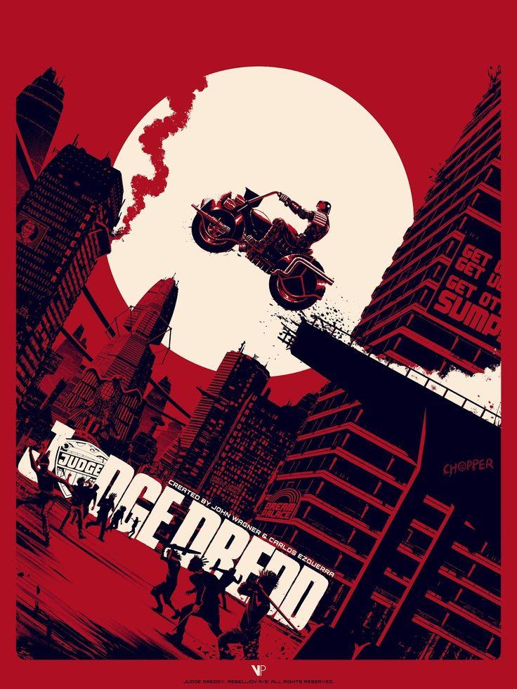 Matt Ferguson Judge Dredd Block War Print Release