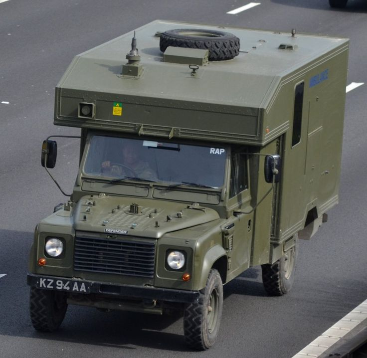 Army Land Rover Ambulance by doctorreplen