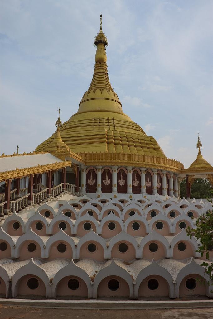 The Global Vipassana Pagoda - Mumbai - India