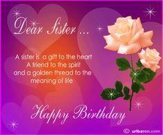 Happy Birthday Big Sister.