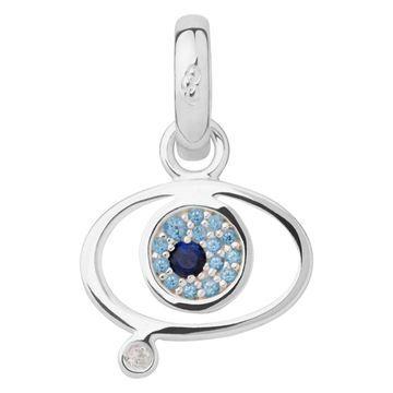 Women Charms All, Evil Eye Charm Sapphire Blue Topaz, Official Links of London