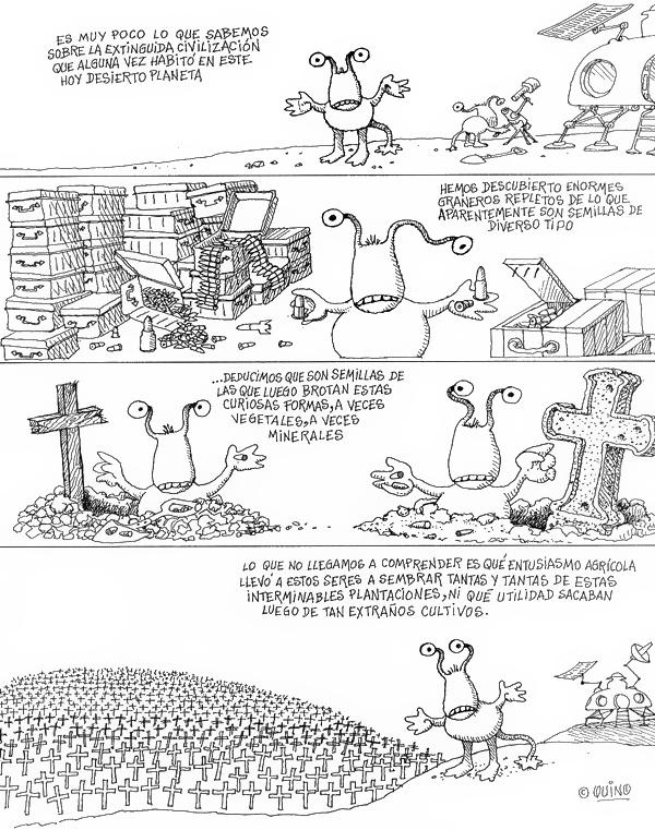La civilización humana extinta.