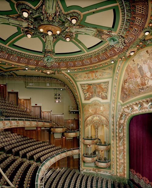 The New Amsterdam Theatre, 1902-1903 by Herts & Tallant, New York City.