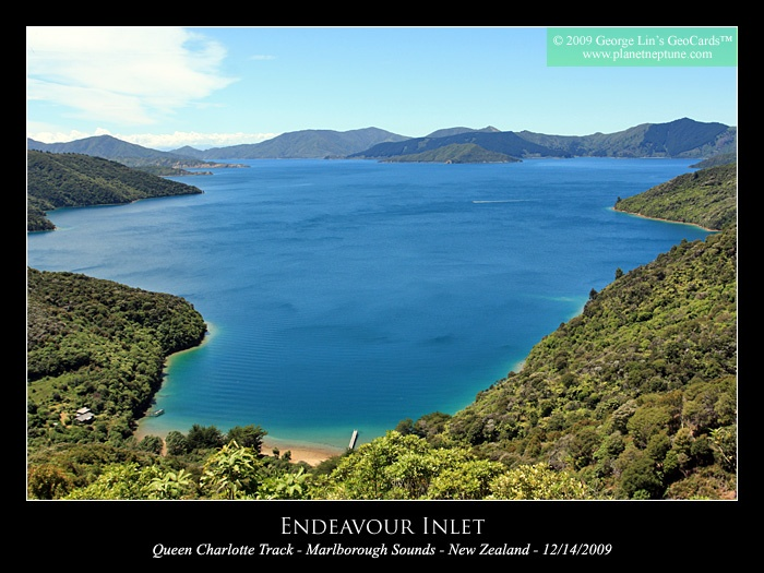 Endeavour Inlet - New Zealand - South Island