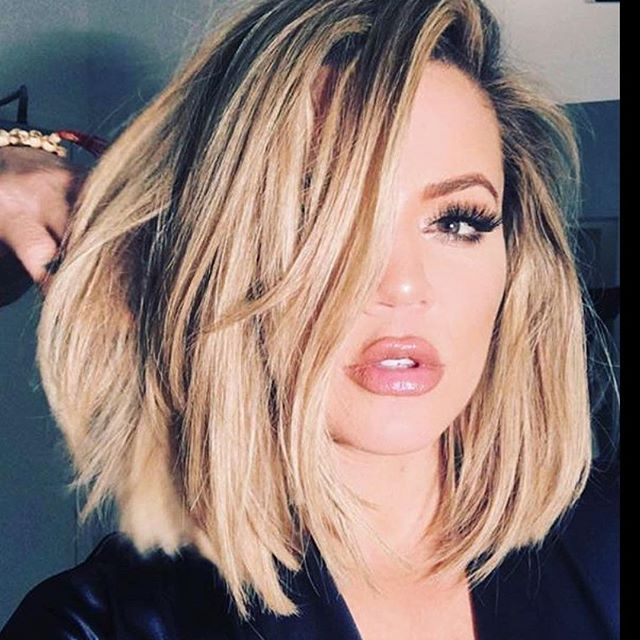 OBSESSED with this blunt bob not too long, not too short, blunt with the…