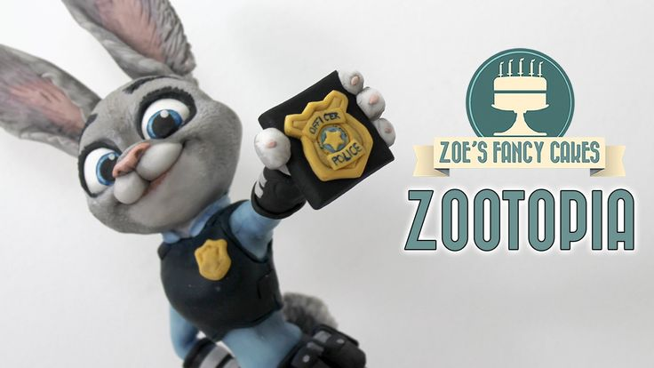 How to make Judy hopps from disney's Zootopia / Zootropolis as a cake topper using modelling paste / fondant or polymer clay. In this video tutorial I show y...