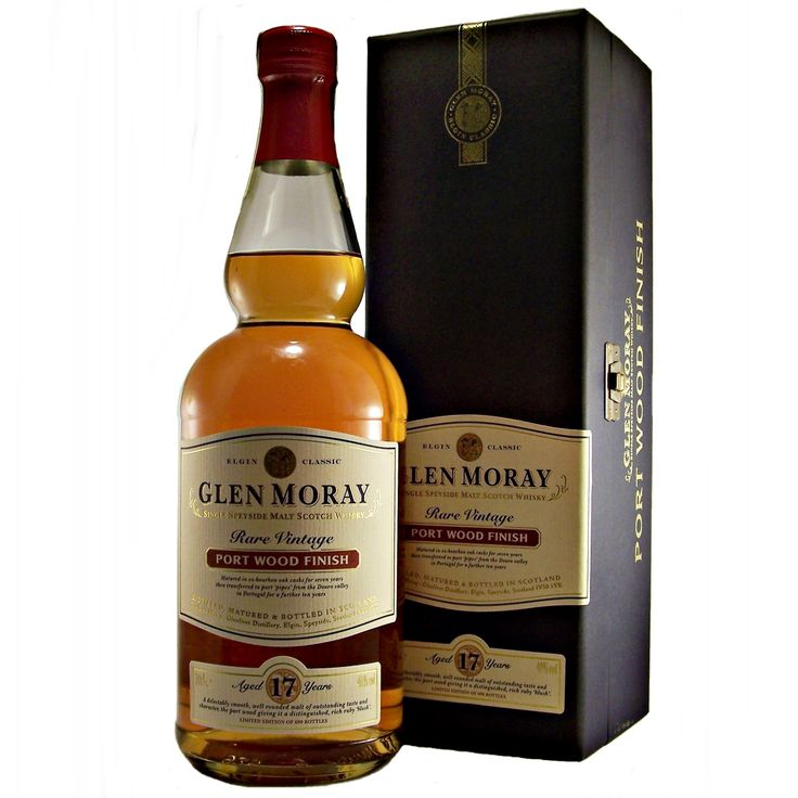 Glen Moray 17 year old Port Wood Finish Rare Vintage available to buy online at specialist whisky shop whiskys.co.uk Stamford Bridge York