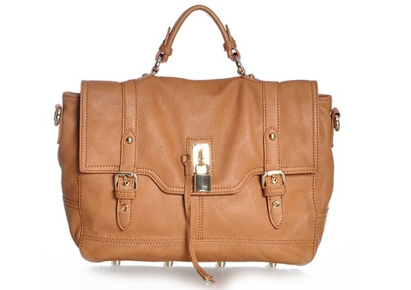 Brown/tan shoulder bag