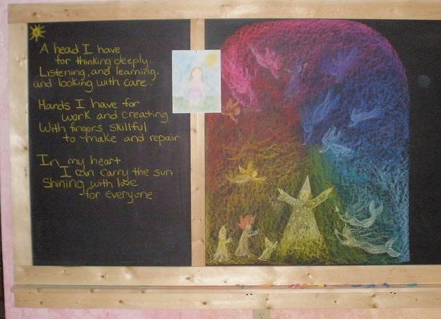colored pencil intro story board