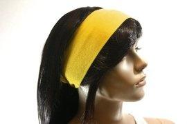 yellow headband?