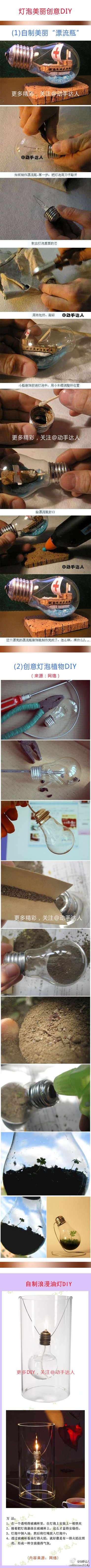 In response to requests for directions on how to make these light bulbs designs, here are some step by step for you!