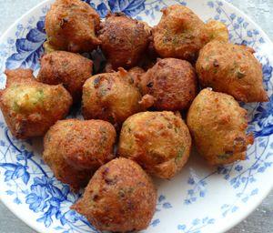 Acras antillais de morue: recette Acras antillais de morue, aftouch-cuisine