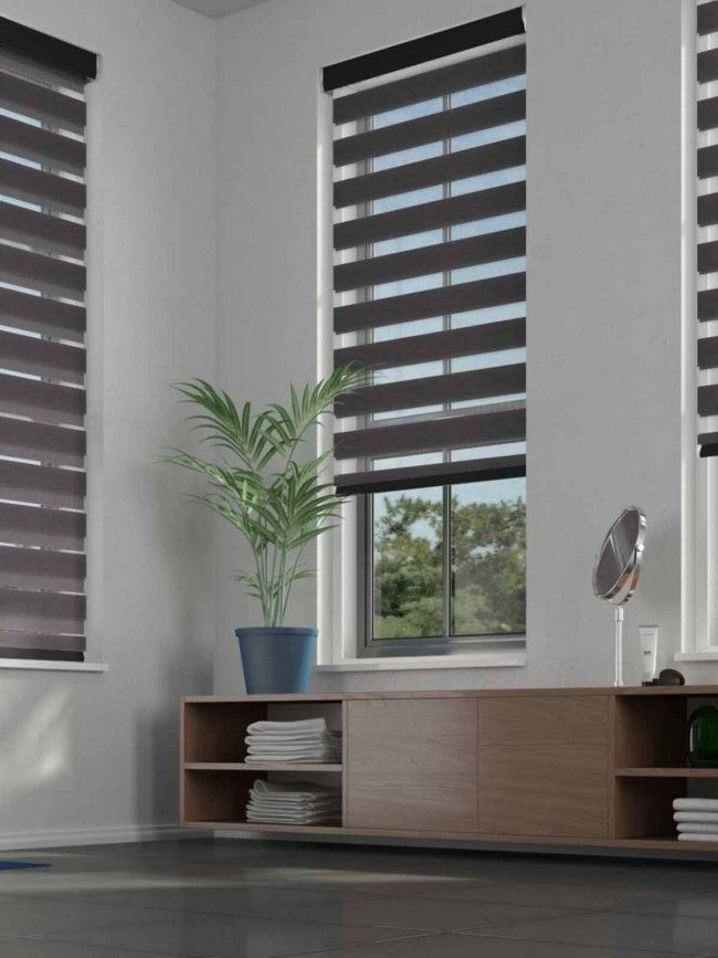 Duo Roller Illume Ebony Blind