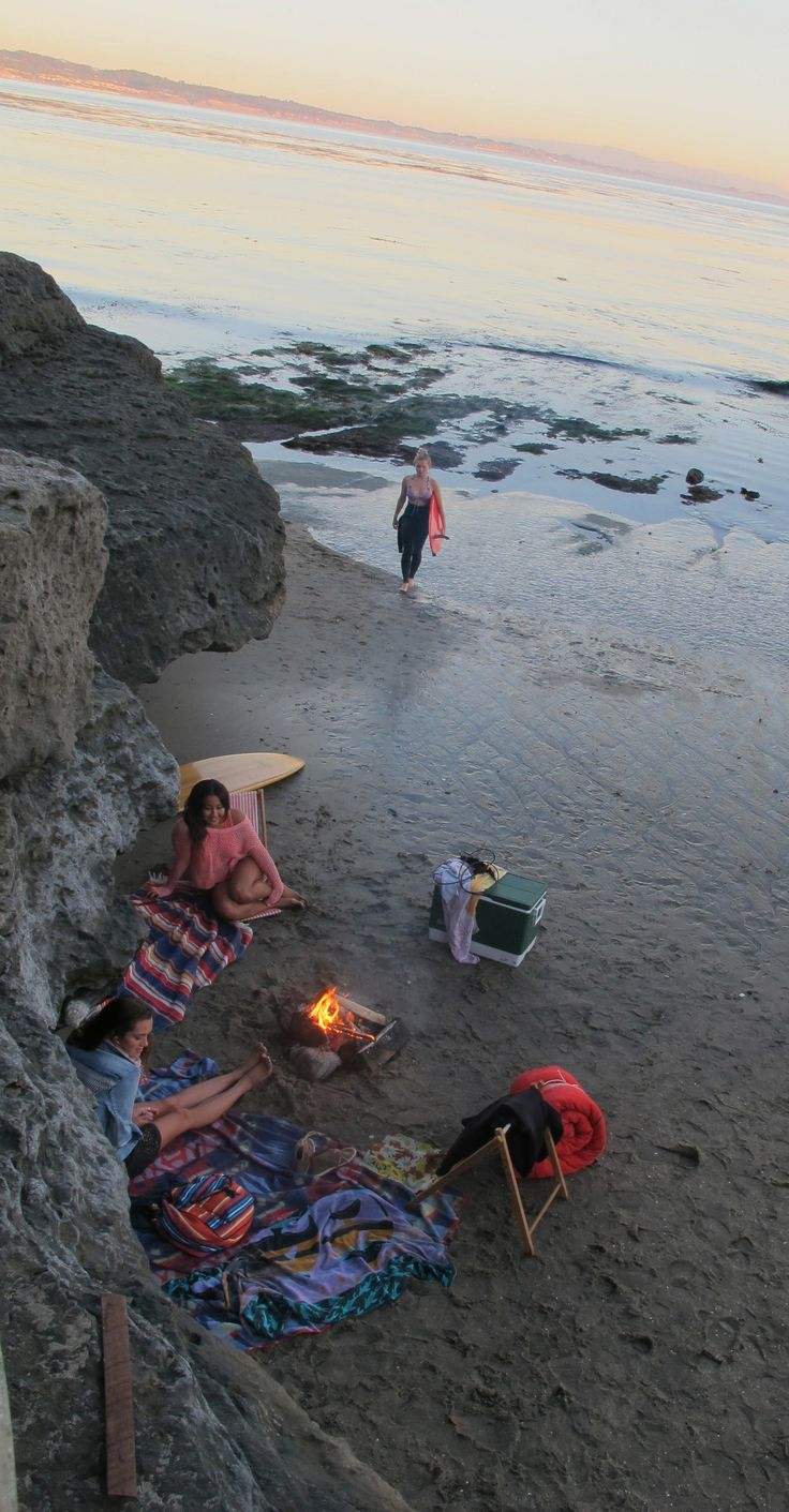 sunset surf spot